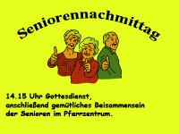 Seniorengottesdienst